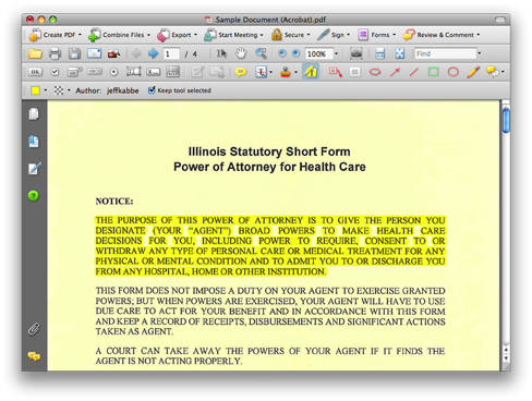 i can t highlight text in pdf